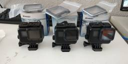 GoPro assessórios Black case estanque + tampa extra