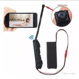 Mini Câmera Ahd Ip Espiã Wifi Com Bateria Micro Câmera V88