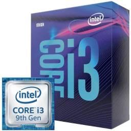Processador Intel i3 9100F Novo Lacrado Com garantia