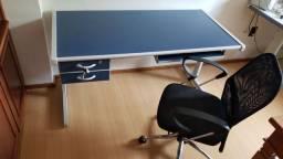 Mesa mais cadeira  para escritório