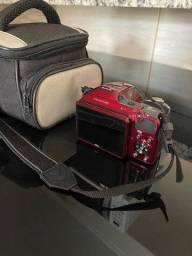 Câmera Profissional- Cor Exclusiva Vermelho Cereja