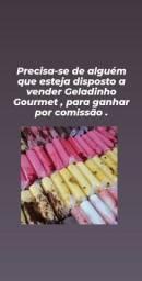 Vendedor(a) de geladinho gourmet