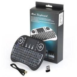 Mini teclado wireless Bluetooth TV BOX
