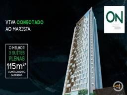 Apartamento à venda com 3 dormitórios em Setor marista, Goiânia cod:3490