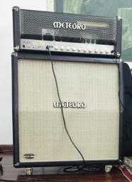 Cabeçote Meteoro MAK3000 + Caixa 4x12 - Andreas Kisser comprar usado  Rio Branco do Sul