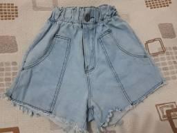 Bazar: Short jeans perfeito número 38