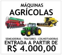 Compre sua máquina agrícola sem juros, com parcelas a partir de R$1.400