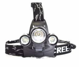 Lanterna de Cabeça B-max BM-808 para Ciclismo com 3 LED's