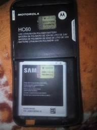 Bateria Motorola e samsung