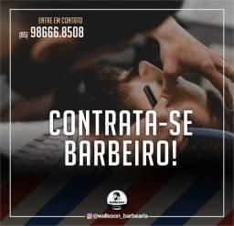 Contrata-se barbeiro(a)