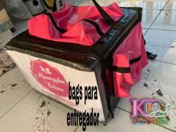 Bolsas de entregador 170reais