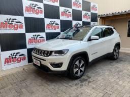 Jeep Compass Longitude 2018 Único dono Baixa Km + Bancos em couro Caramelo