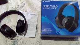 Head set PlayStation serie ouro
