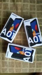 Smartphone Samsung Galaxy A01 Core, 32GB, 2GB RAM, Lacrado com 365 Dias de Garantias
