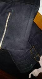 Jaquetinha em camurça