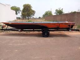 Barco de 6m zerado - oportunidade única