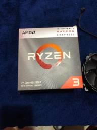 Processador ryzen 3 3200g semi-novo