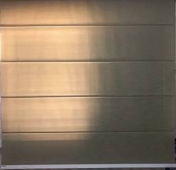 Cortina romana bege linho marrom nude