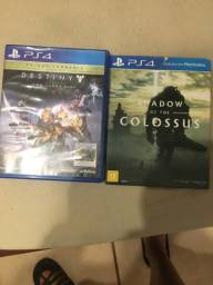 Destiny e Shadow of Colossus PS4