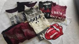Lote de roupas Feminino Novas