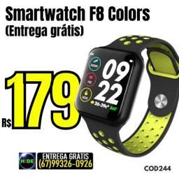 Relógio Smart F8 Color (entrega grátis)
