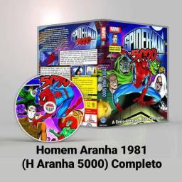 DVD Homem Aranha Serie de 1981 Completo