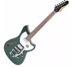 Guitarra Semi Acústica Tagima Jet Blues Deluxe Bigsby Brasil