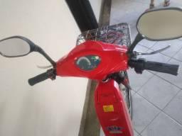 Bicicleta elétrica, estado de zera, pouco usada