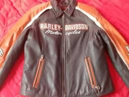Jaqueta em Couro Harley Davidsson