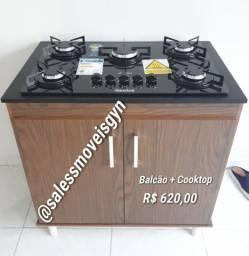 Gabinete + Cooktop Realce *Promoção Imperdível