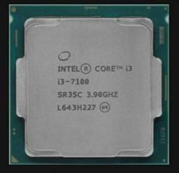 """Intel core i3 7100 7° geração """"semi novo"""""""