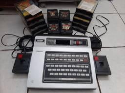 Odyssey² Magnavox/Philips com 25 Jogos (Troco por Placa de Vídeo!!)