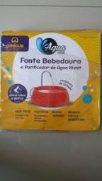 Fonte bebedouro e purificador para cães e gatos