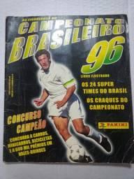 Álbum de Figurinhas - Colecão - Colecionador - Campeonato Brasileiro 1996 Completo