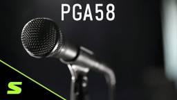 Microfone Shure PGA58 Seminovo