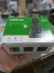 Telefone sem fio novo na caixa