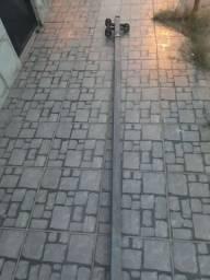 Poste padrão enel galvanizado 5 metros