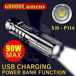 Lanterna Tática XH-P116 Última geração em lanternas