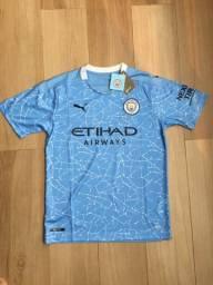 Camiseta Machester City l - M
