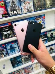iPhone 7 32gb// rose e black impecáveis