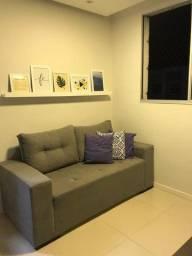 Apartamento semi mobiliado para locação no Condomínio Fonte das Águas
