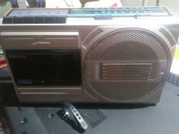 Rádio gravador Philips ar150