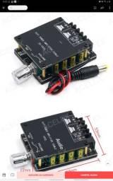 Amplificador de Áudio Hifi , Bluetooth