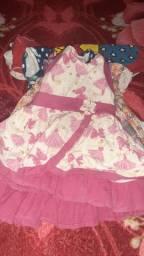 Vestido infantil tamanho 1