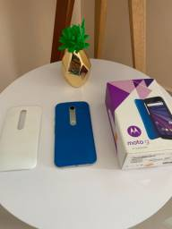 Celular Moto g3 c/ caixa