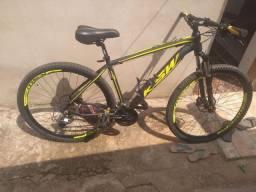 Vendo bicicleta aro 29 27 marchas ksw