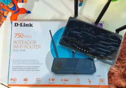 Roteador D-Link  Wi-Fi Router DUAL BAND 2.4 e 5.0 Ghz