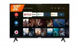 "Vende-se Smart TV 32"" TCL Led - com Nota Fiscal - 7 meses de uso"