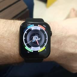 Novo Smartwatch FK78 Iwo Tela 1.78 Atende Chamadas Brinde Pulseiras