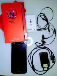 Motorola Z2 play 64GB Dual Sim Platinum com acessórios originais